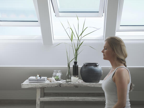 attic conversion | Yoga room | Meditation