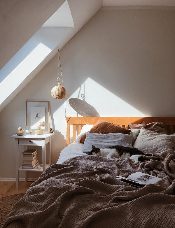 Control the light for a restful nights sleep