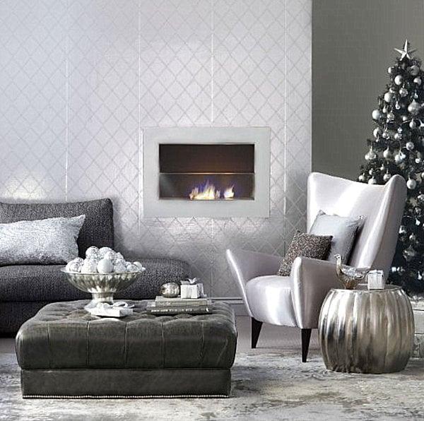A cosy Christmas corner